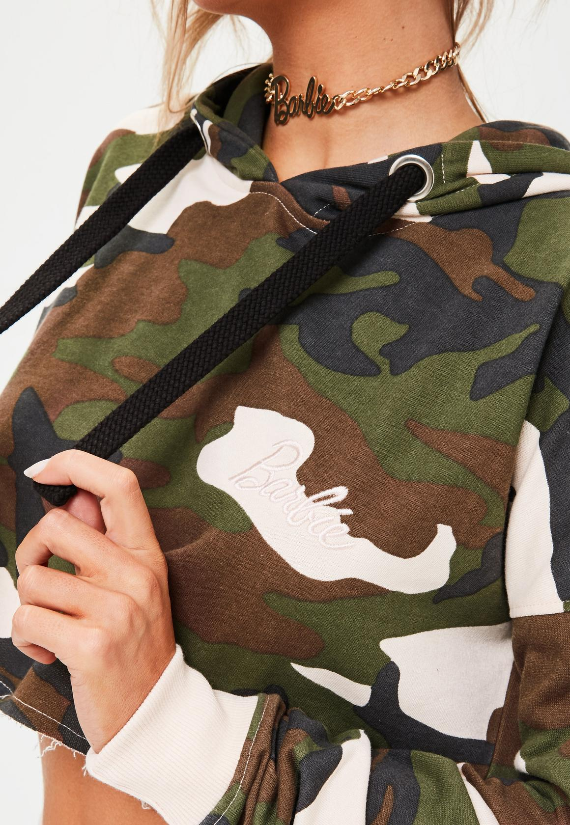 barbie-x-missguided-long-sleeve-camo-cropped-hoody-multi